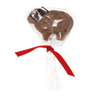 Sheep Milk Chocolate Lollipop _wrapped