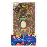 Christmas Penguin Chocolate Bar_Green_wrapped