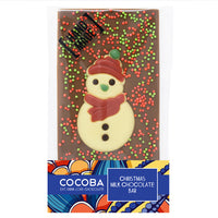 Christmas Snowman Chocolate Bar_Red_wrapped