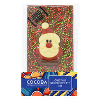 Christmas Santa Milk Chocolate Bar_wrapped