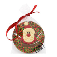 Christmas Santa Milk Chocolate Tree Hanger_wrapped