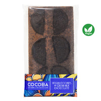 Vegan Cookies & Cream Milk Chocolate Bar_wrapped