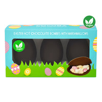 Vegan Easter Egg Hot Chocolate Bombe 3 pack_packaging