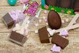 Marshmallow Bunny Easter Hot Chocolate Spoon