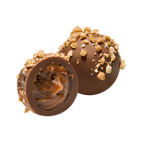 Hazelnut Chocolate Truffles_open