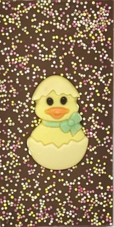 Yellow Ducky Easter Chocolate Bar