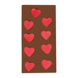 Jelly Hearts Milk Chocolate Bar