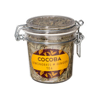 Loose Leaf Lemongrass & Ginger Tea_40g jar