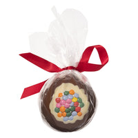 Milk Chocolate Candy Coated Christmas Bauble_wrapped