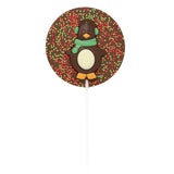 Milk Chocolate Christmas Penguin Lollipop