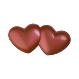 Milk Chocolate Double Heart