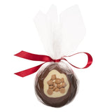 Milk Chocolate & Golden Caramel Christmas Bauble_wrapped