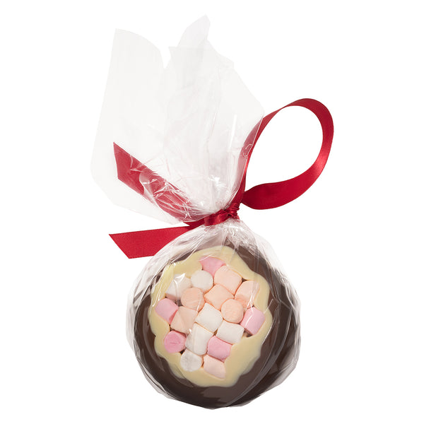 Milk Chocolate & Mini-Marshmallow Christmas Bauble_wrapped