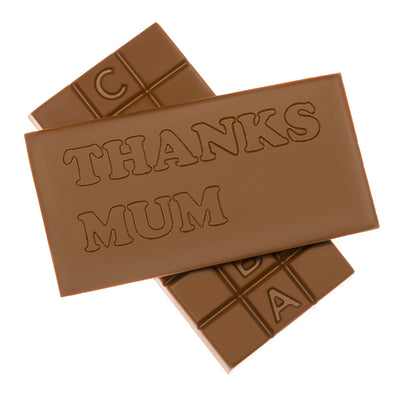 Personalised Engraved Milk Chocolate Bar_Thanks Mum