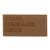 Personalised Engraved Milk Chocolate Bar_your message here