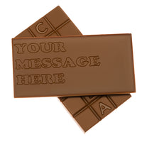 Personalised Engraved Milk Chocolate Bar_front and back