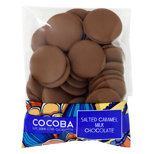 Salted Caramel Milk Chocolate Buttons