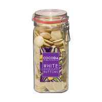 White Chocolate Buttons Giant Jar