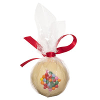 White Chocolate Candy Coated Christmas Bauble_WRAPPED