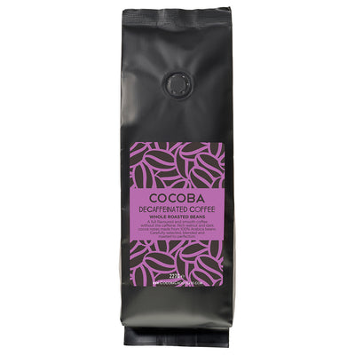 Whole Roasted Decaffeinated Coffee Beans