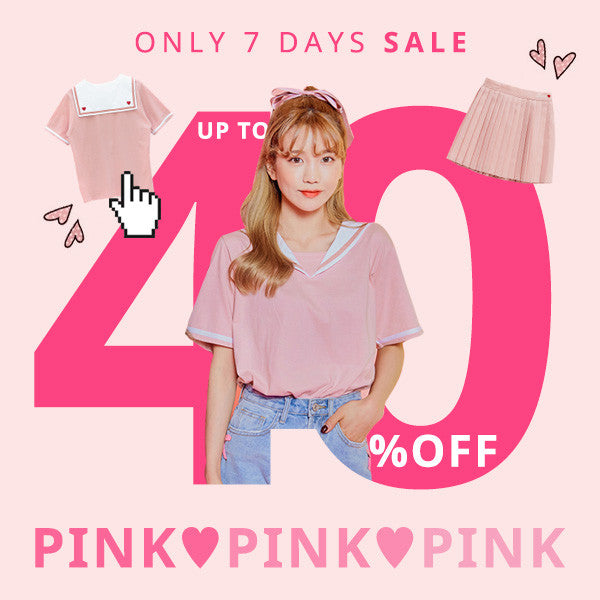 Get Pretty In Pink - Up To 40% Off For Pink Collection Items!