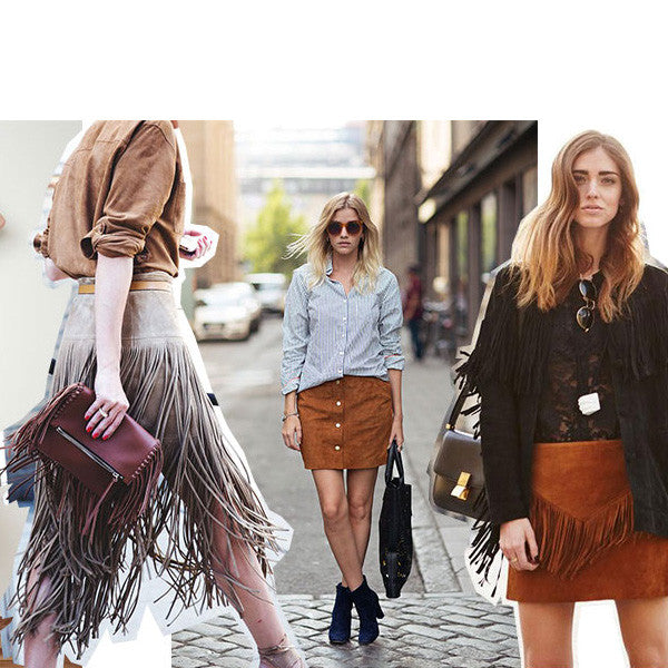 Fall 2015 Trend II: Fall In Love With Suede