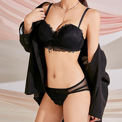 Magic Volume Up Lace Bra+Pantie Set