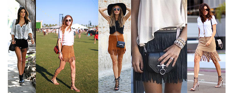 fringe-skirts-shorts