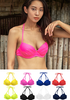 VIKINIVENDER swimwear 8 Color Wired Shirring Bikini Top