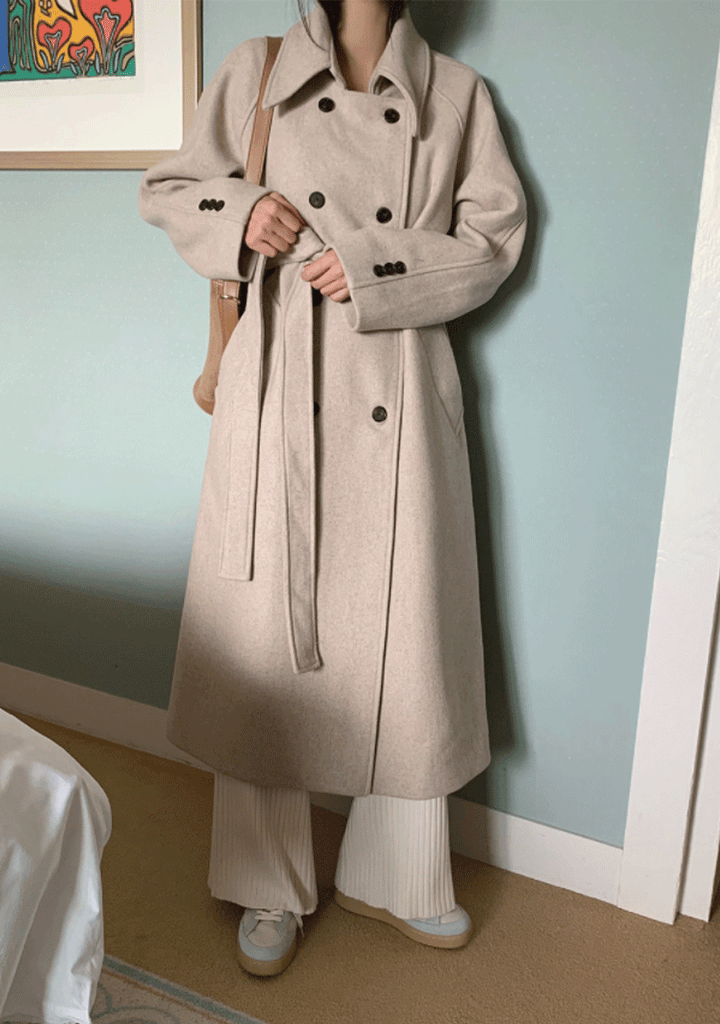 Run The World With Wool Long Coat