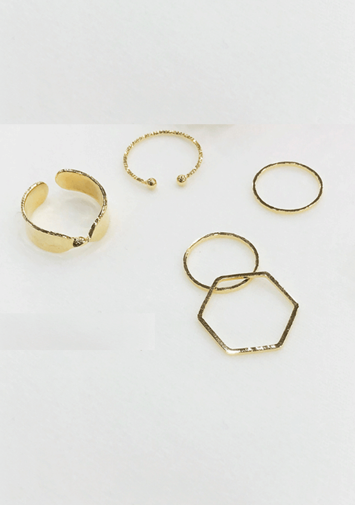 Feeling Expression Rings Set