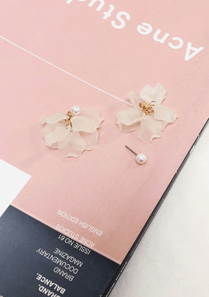 Create My Vision Flower Earrings