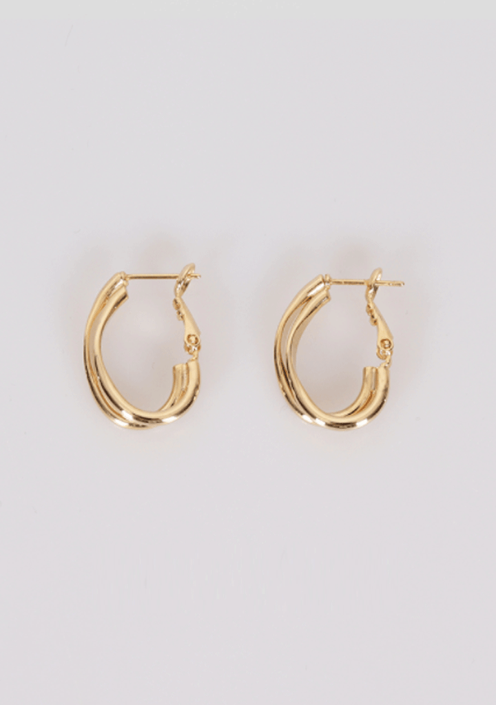 Time For Changes Hoops Earrings