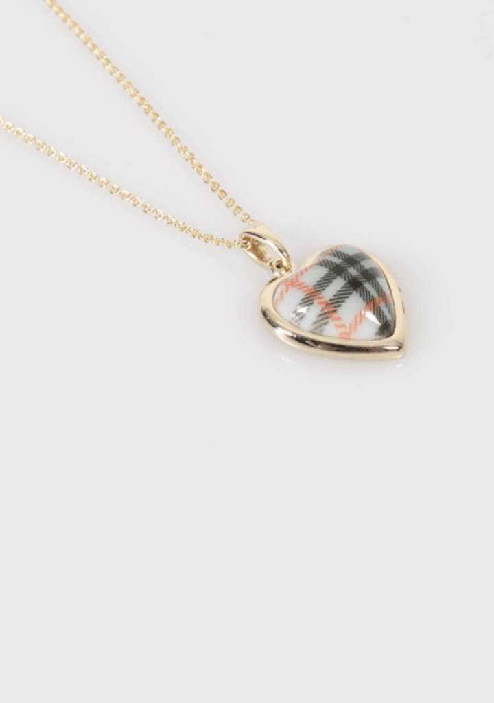 One Step Closer Heart Necklace