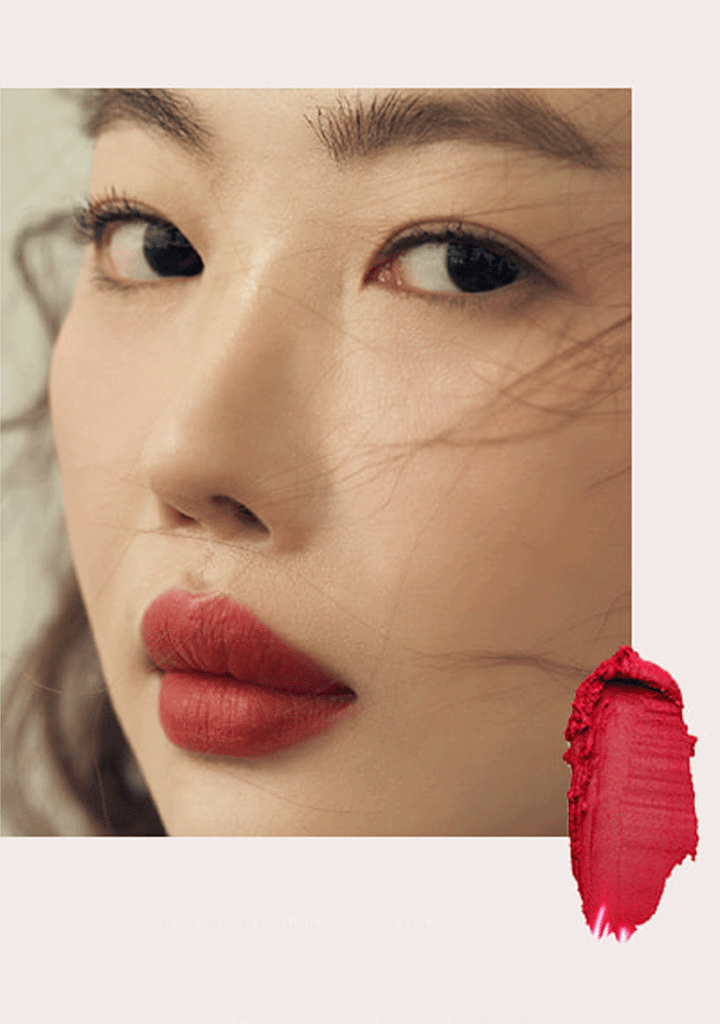 HERCI Matte Finish Lipstick #EVENINGRED