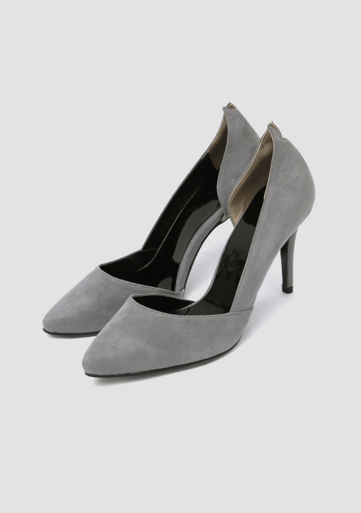 CHUU shoes Suede Court Shoes