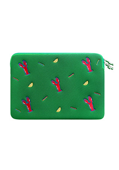 WIGGLEWIGGLE accessories Laptop Sleeve / Lobster