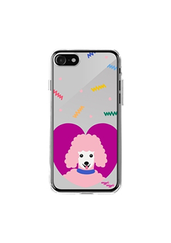 WIGGLEWIGGLE accessories Mirror Case / Poodle