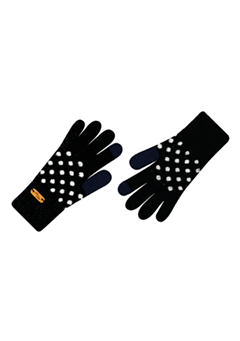 WIGGLEWIGGLE accessories Touch Screen Gloves / Dancing Dot (Black)