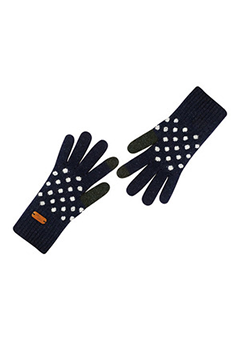 WIGGLEWIGGLE accessories Touch Screen Gloves / Dancing Dot (Indigo)