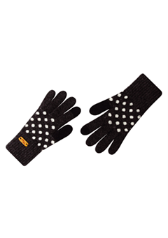WIGGLEWIGGLE accessories Touch Screen Gloves / Dancing Dot (Charcoal)