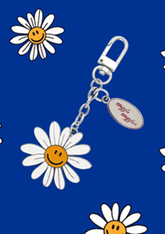 WIGGLEWIGGLE accessories Key Ring / Smiles We Love