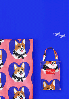 WIGGLEWIGGLE accessories Picnic Mat - Welsh Corgi
