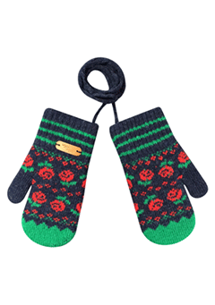 WIGGLEWIGGLE accessories Kids Gloves / Dancing Rose