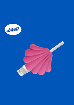 WIGGLEWIGGLE accessories Cable Protector - Shell