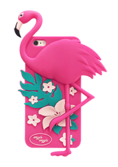 WIGGLEWIGGLE accessories Funky Case / Dancing Flamingo