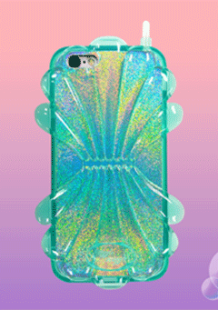 WIGGLEWIGGLE accessories Shell Case / Mint
