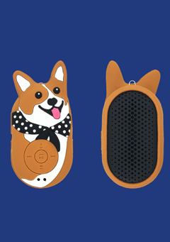 WIGGLEWIGGLE accessories Bluetooth Speaker / Welsh Corgi