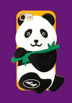 WIGGLEWIGGLE accessories Funky Case / Panda