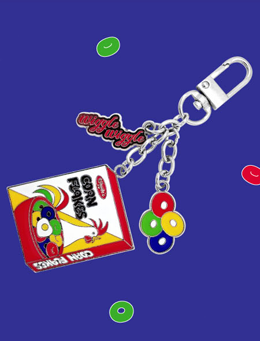WIGGLEWIGGLE accessories Key Ring - Corn Flakes